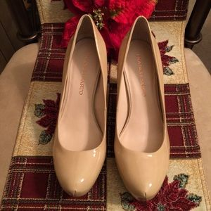 👠PRE-LOVED AUTHENTIC FRANCO SARTO LEATHER PUMPS